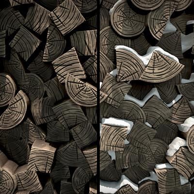 Carla tang anime firewood wallpaper 01