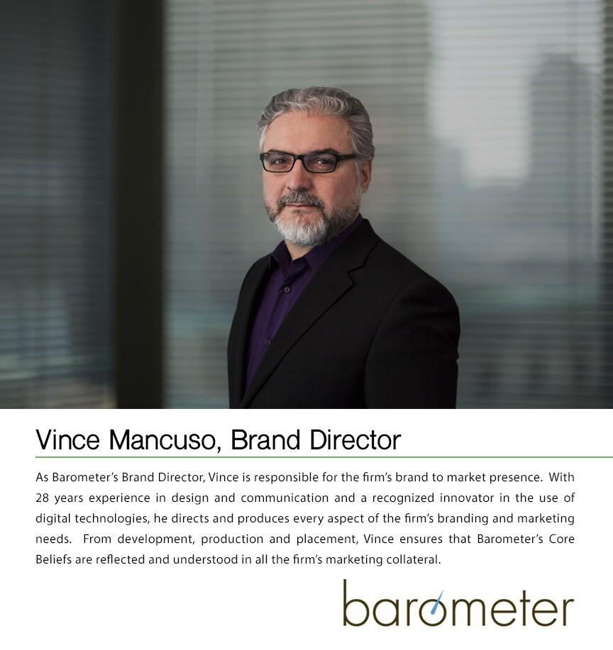 Brand Director for Barometer Capital Management.