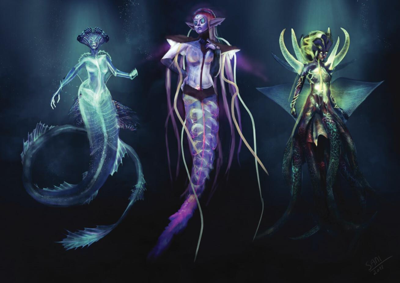 Sea creature - concept design