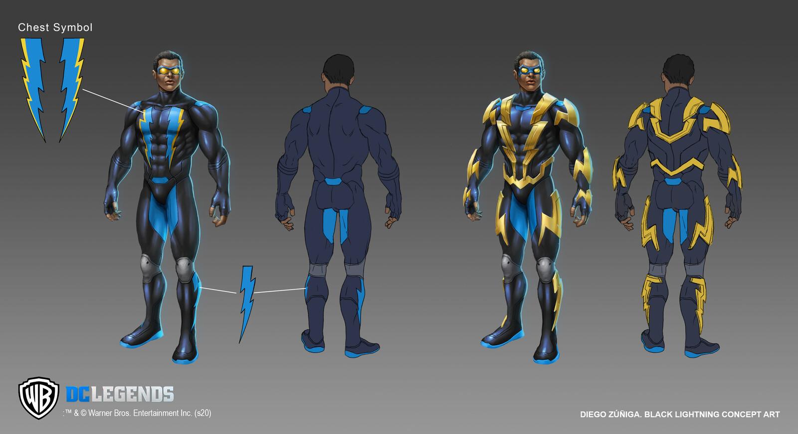 DC Legends Concept Art