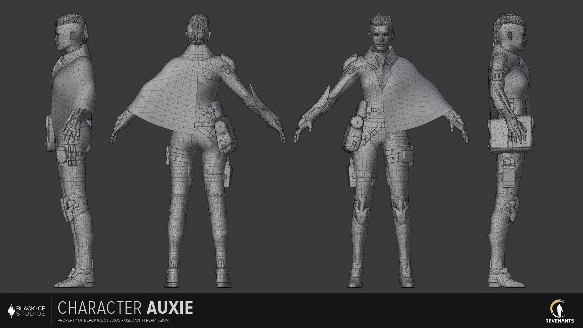 Polycount is about 65k tris