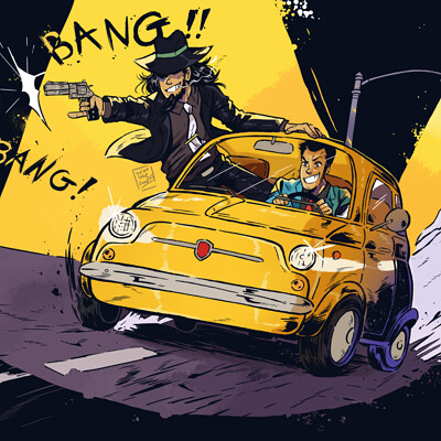 Dylan b caleho lupin and jigen
