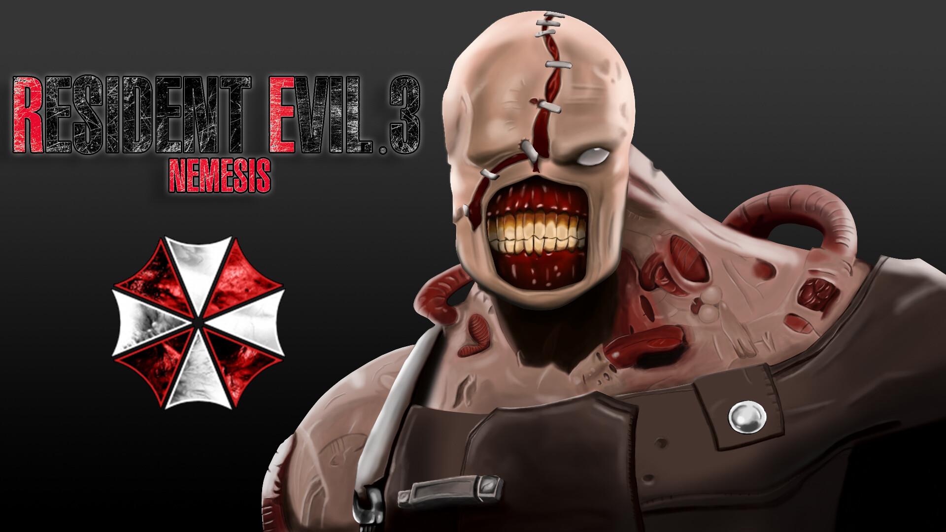 Artstation Resident Evil 3 Nemesis Fan Art Craig Lovejoy