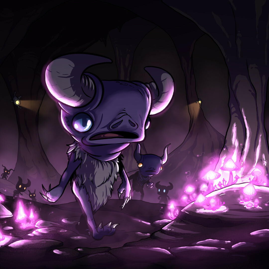 A tiny underground monster with large claws and horns. It walks on two legs and is dangerous when encountered in large numbers.
