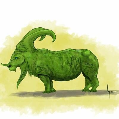 Angie c rhino goat