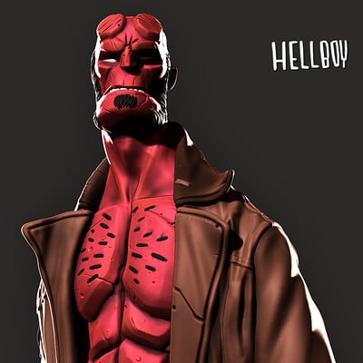 David ostman hellboy bust pic1