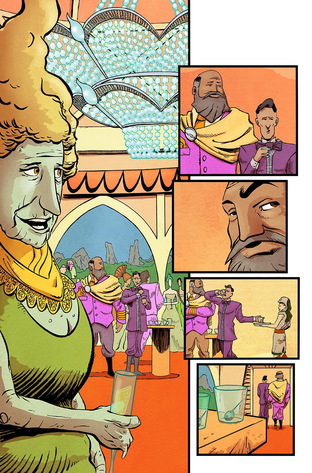 Vagrant Queen #4 pg 01