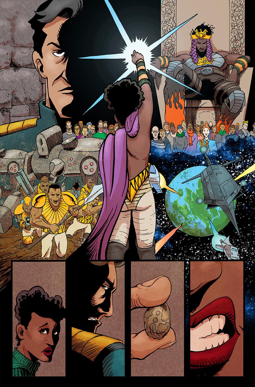 Vagrant Queen #5 pg 16