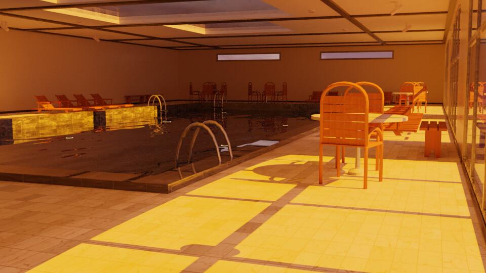Pool 1 - Sunset