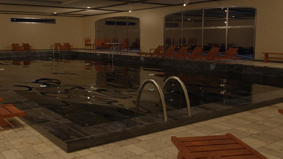 Pool 6 - Night