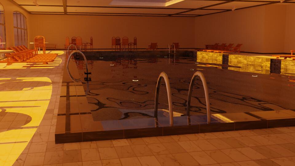 Pool 4 - Sunset