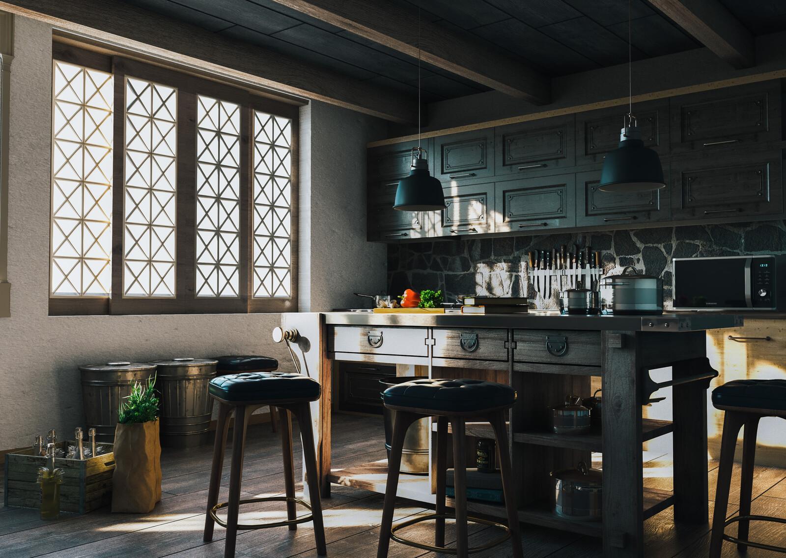 Wood / Kitchen
