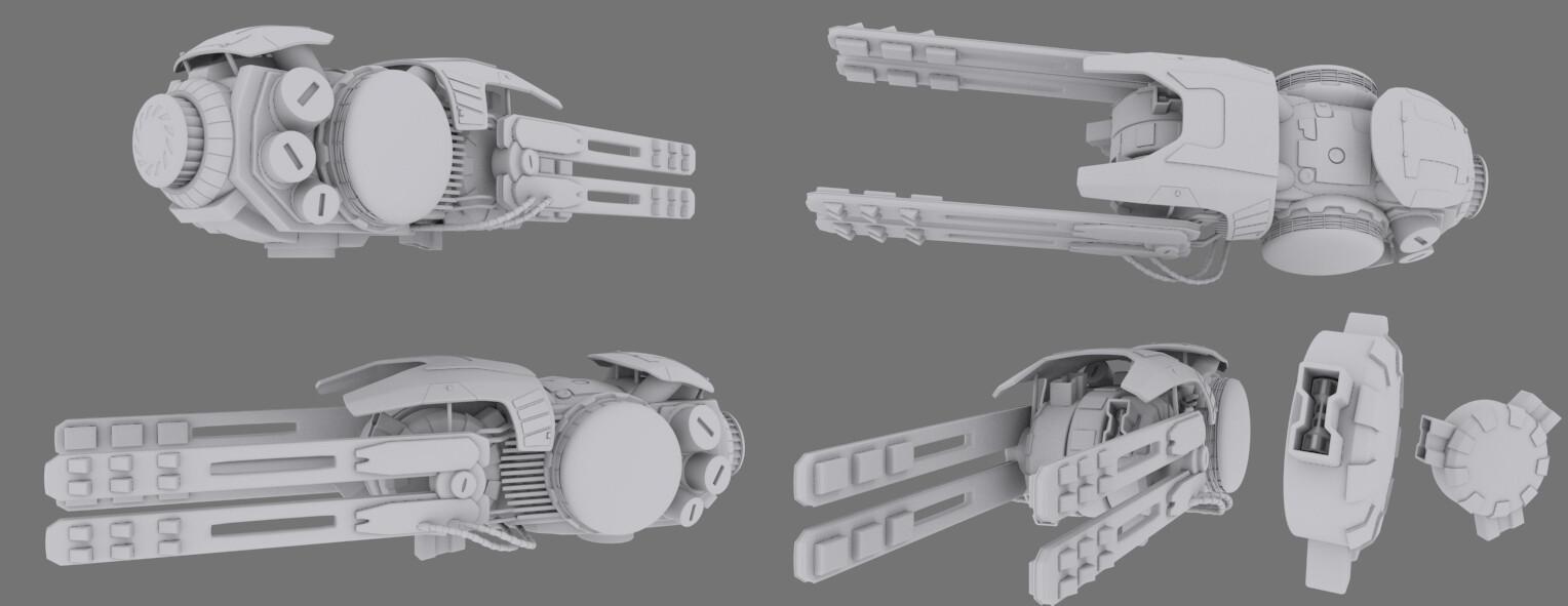 Original Concept weapon for Contest.