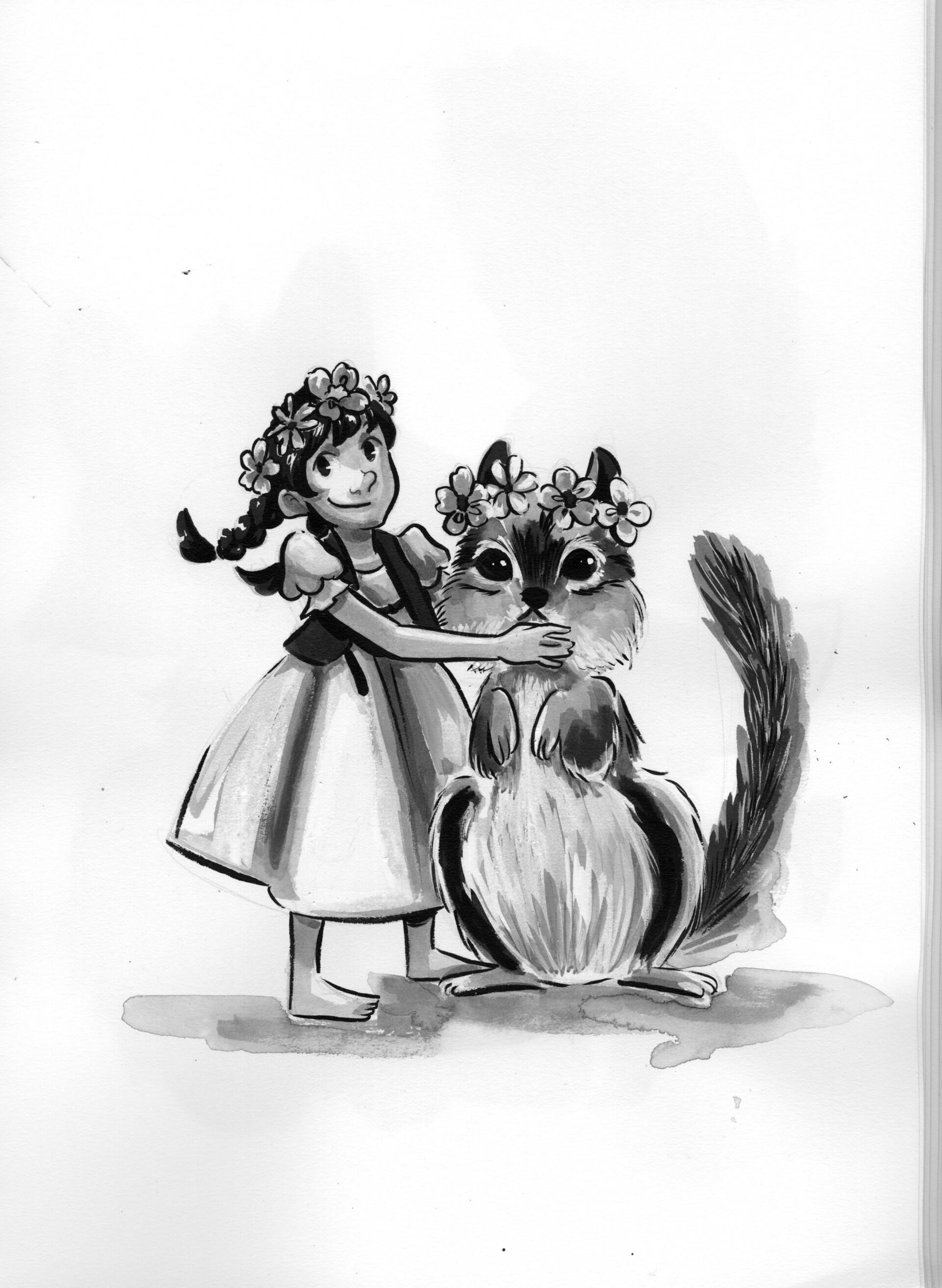 Day 21- Pets- Chipmunk