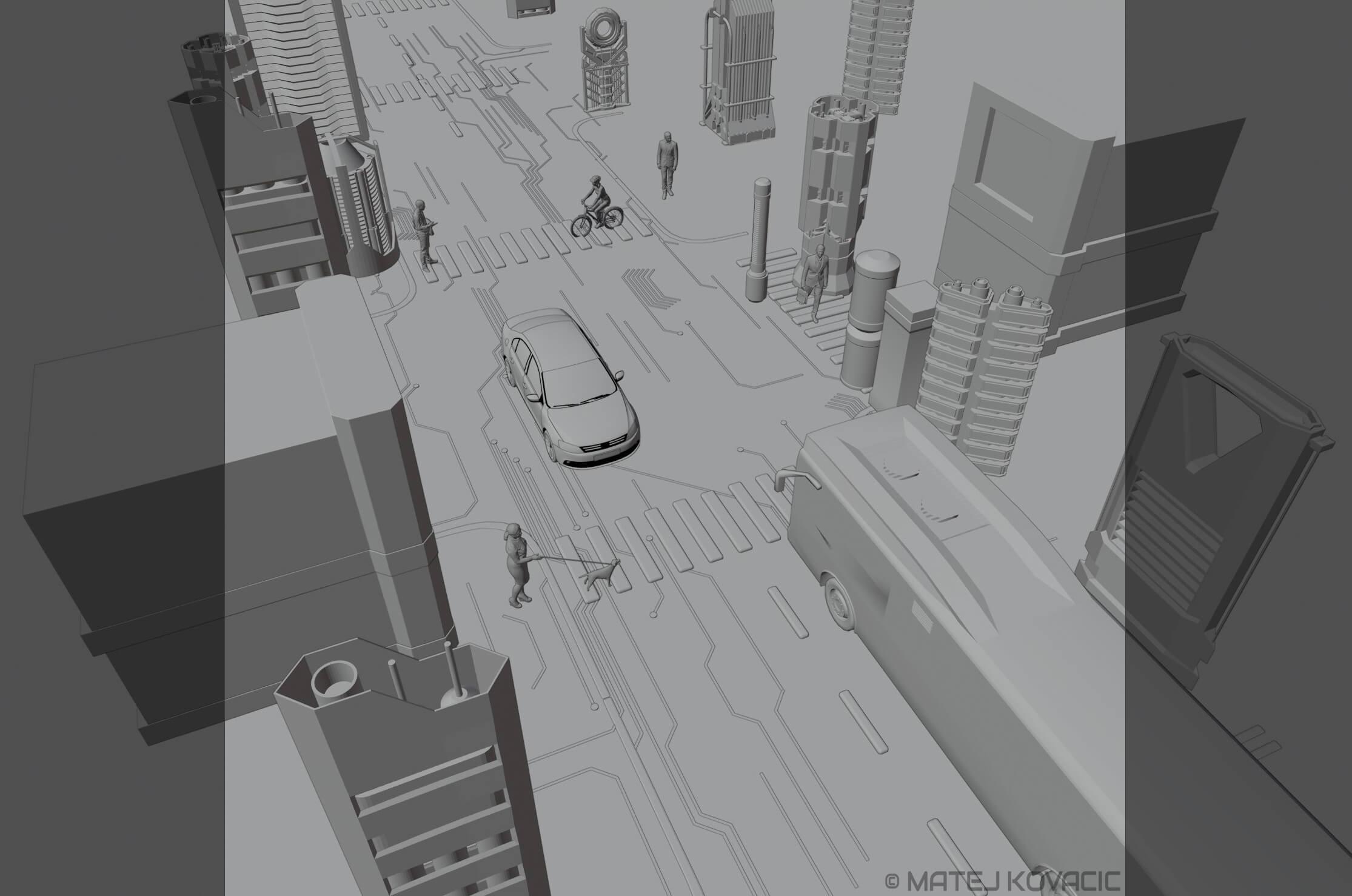 Digtal City (model)