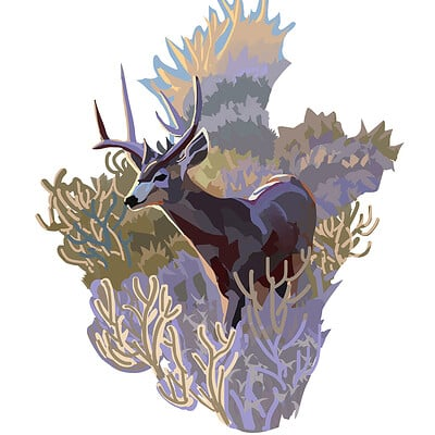 Hugo puzzuoli bush antilope small hpuzzuoli