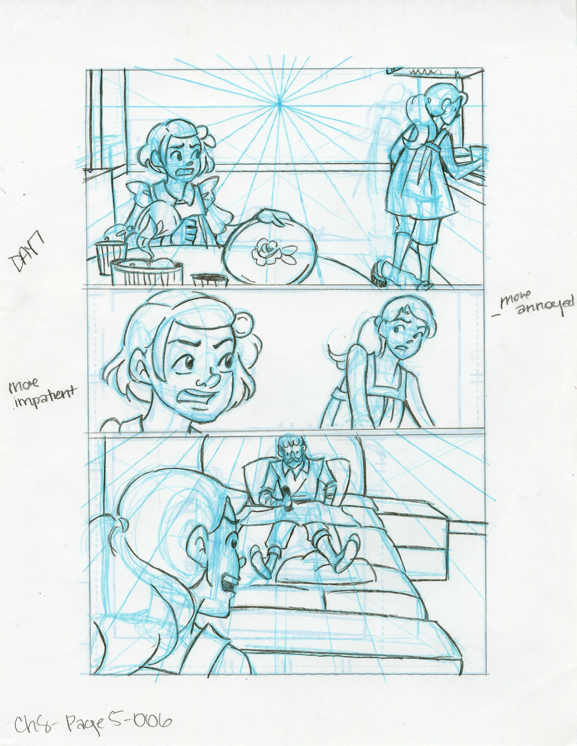 Roughs Page 6