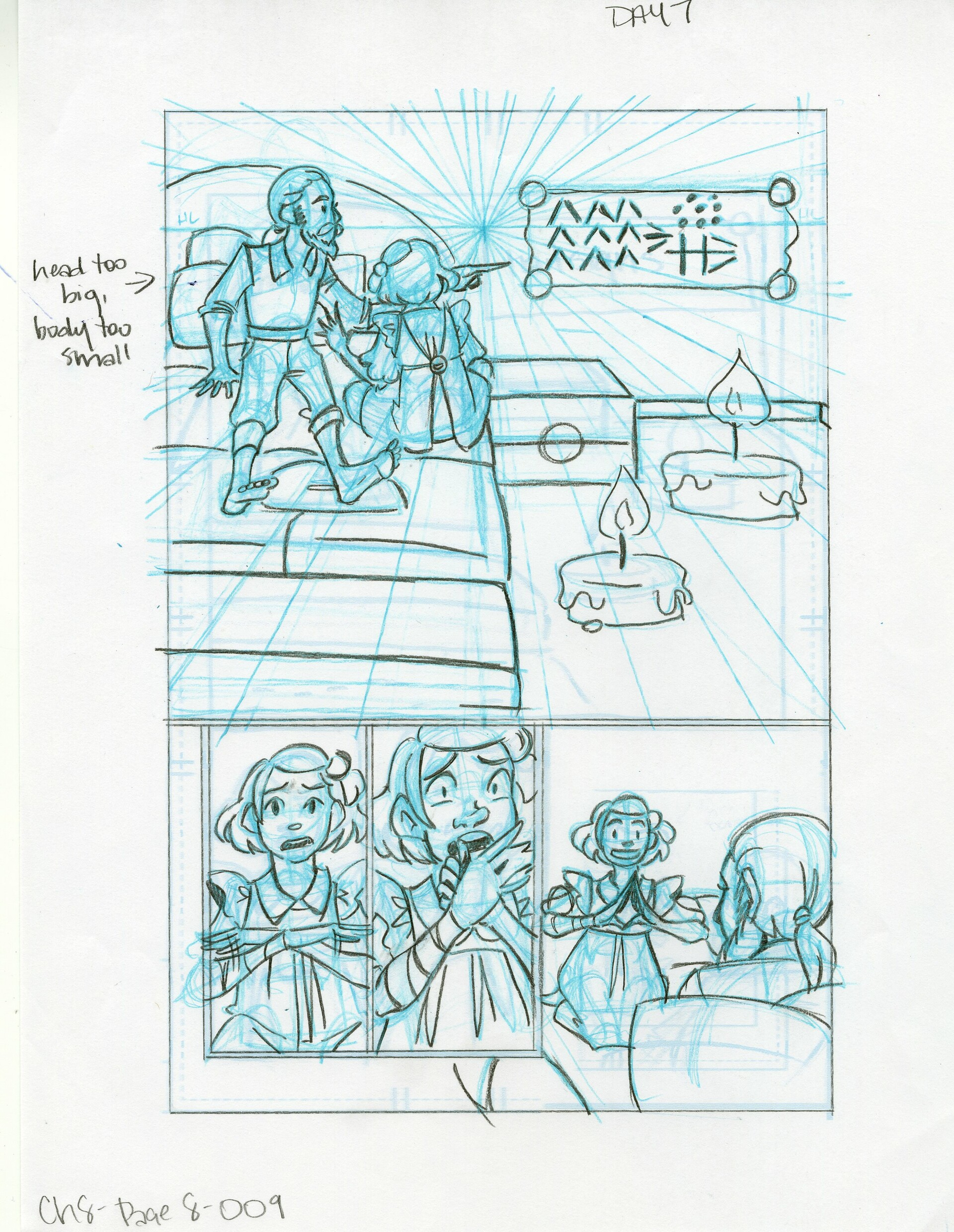 Roughs Page 9