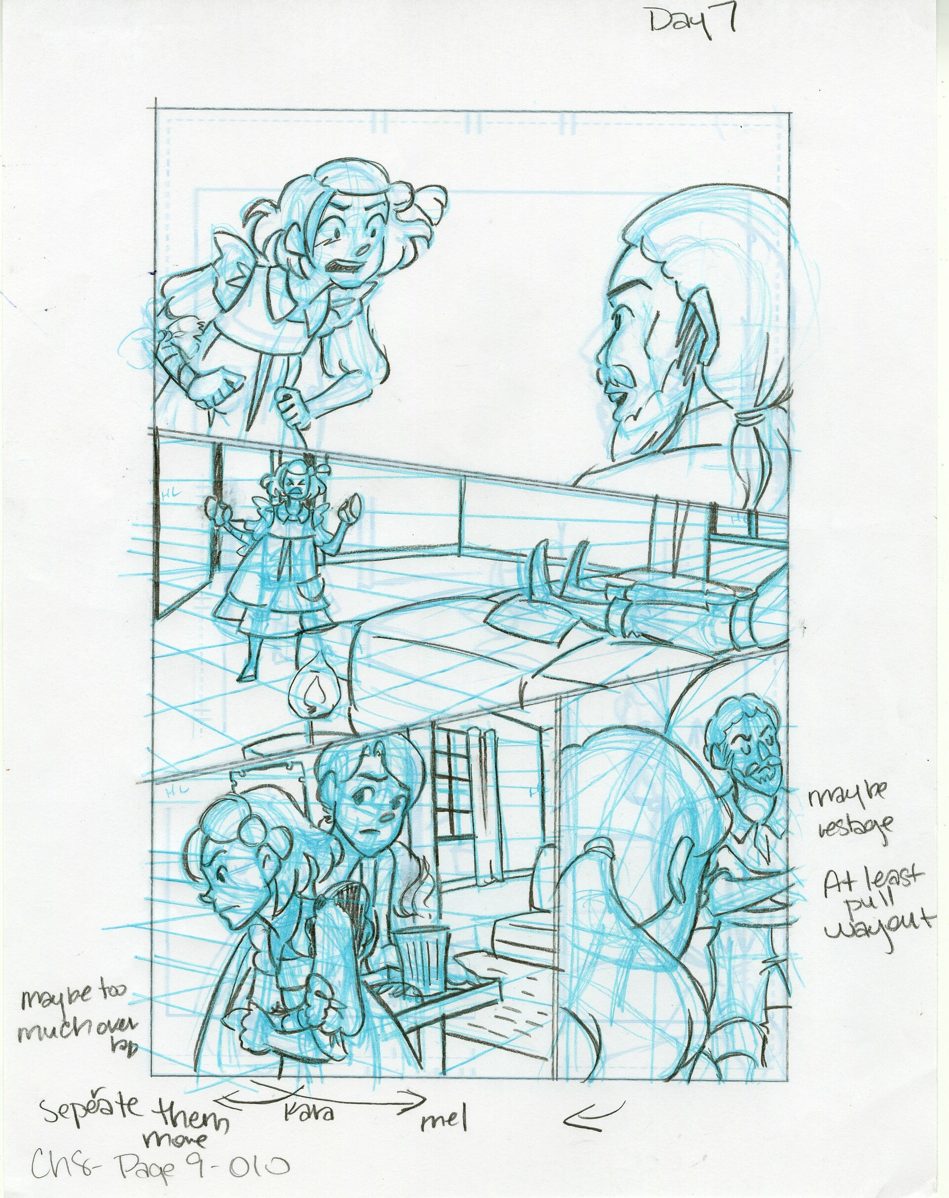 Roughs Page 10