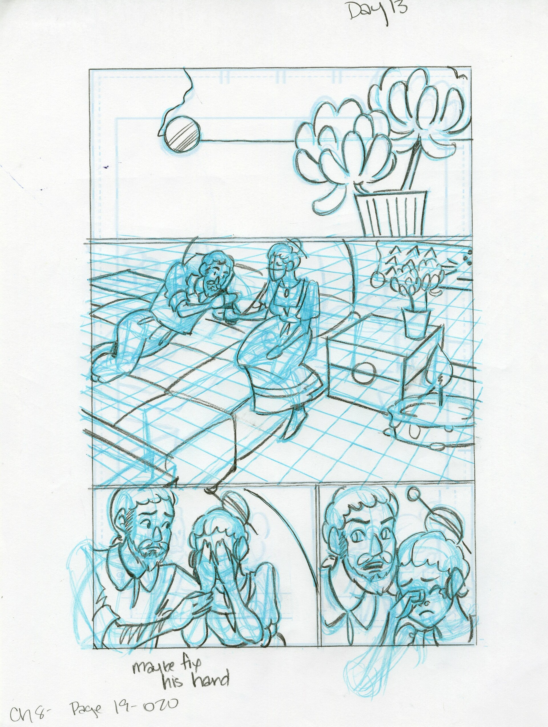 Roughs Page 20