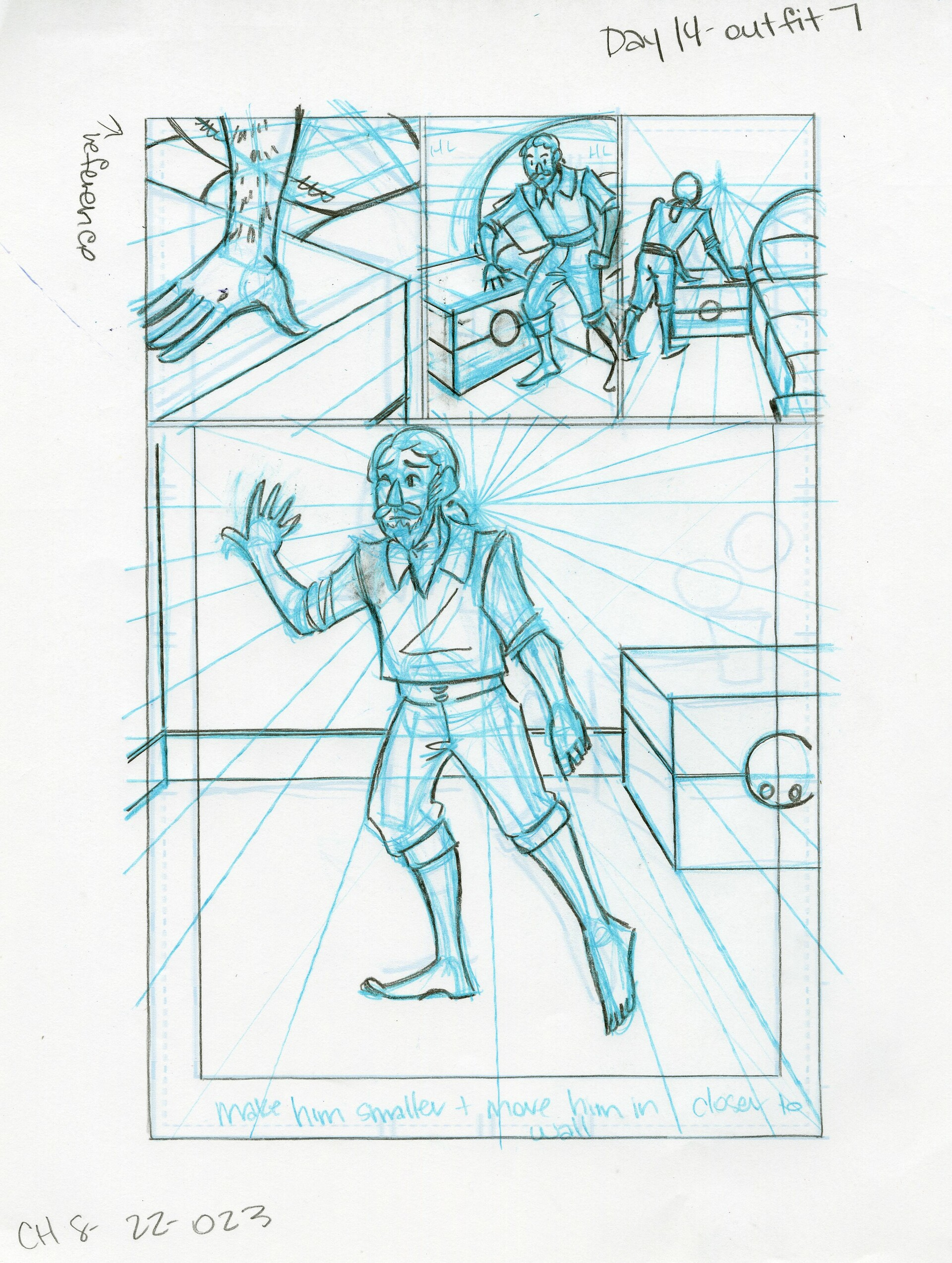 Roughs Page 23