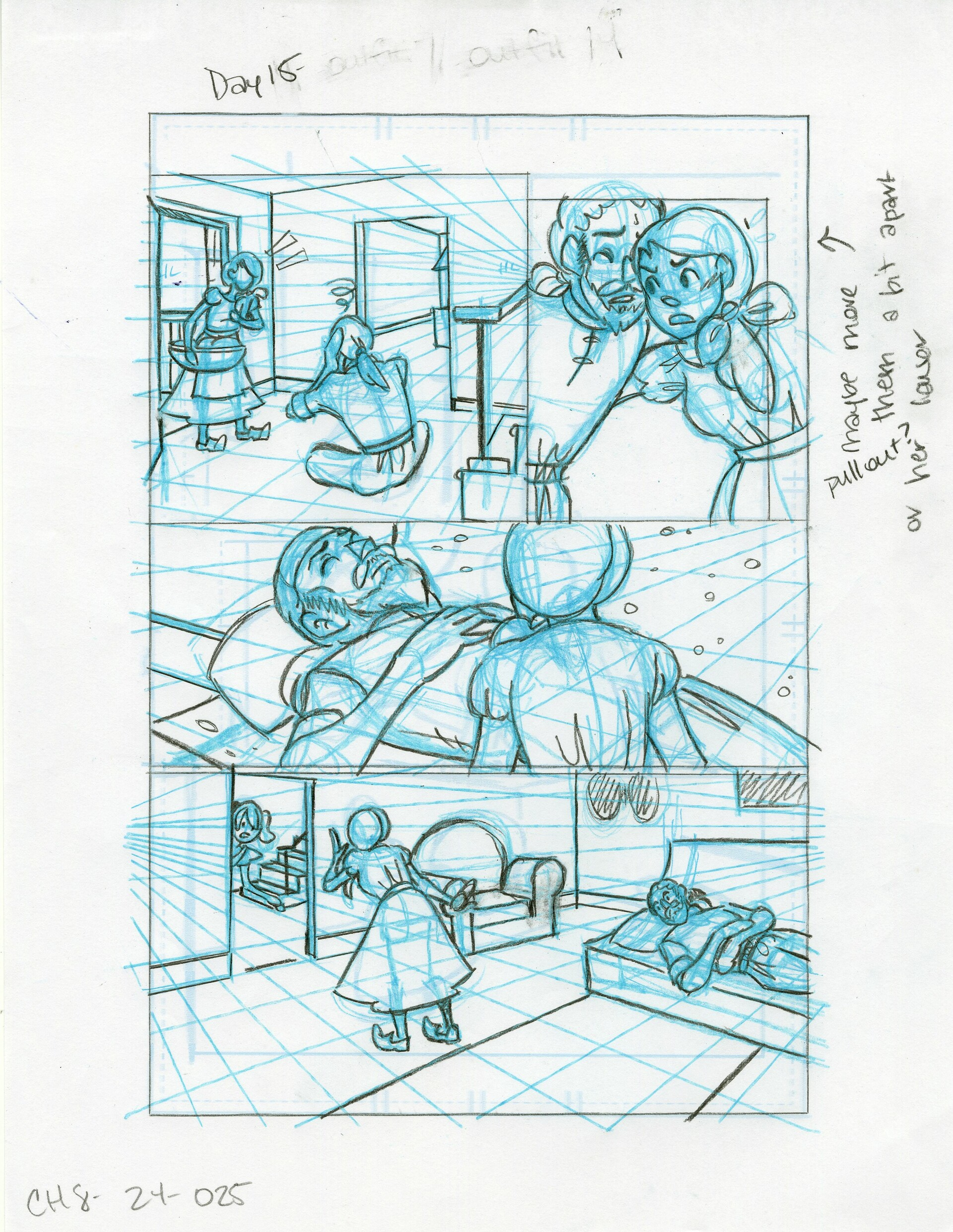 Roughs Page 25