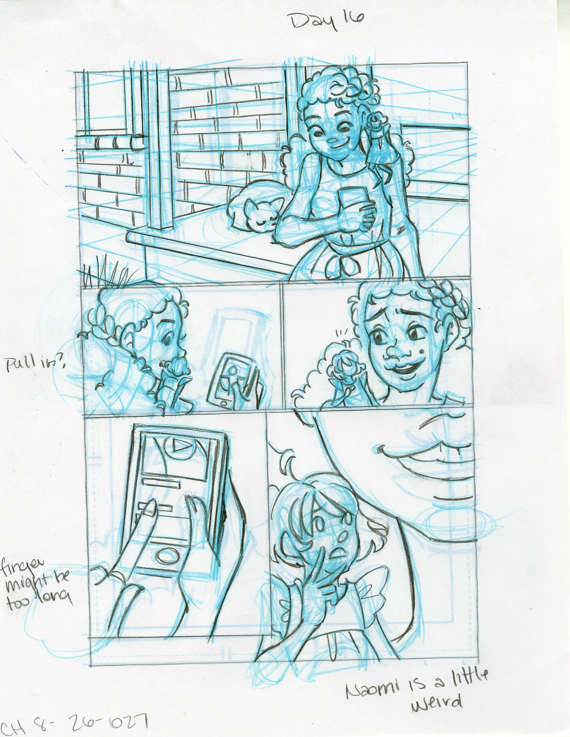 Roughs Page 27