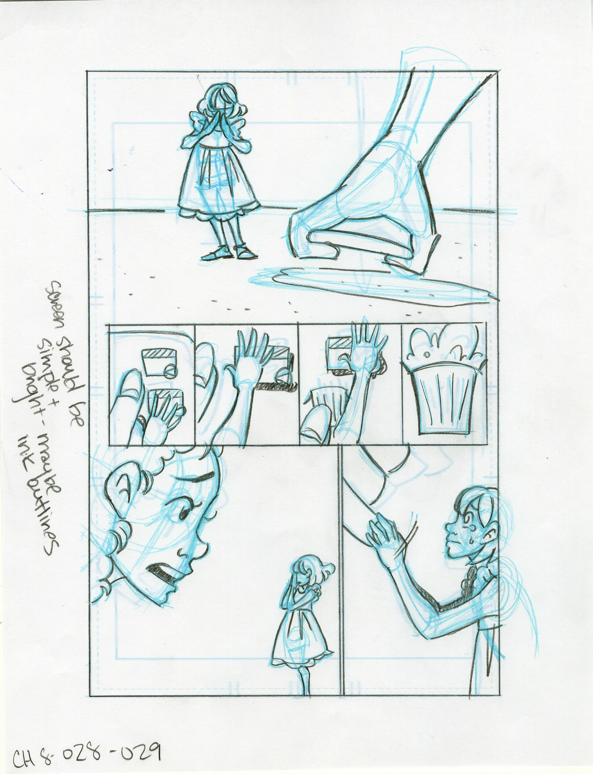 Roughs Page 29