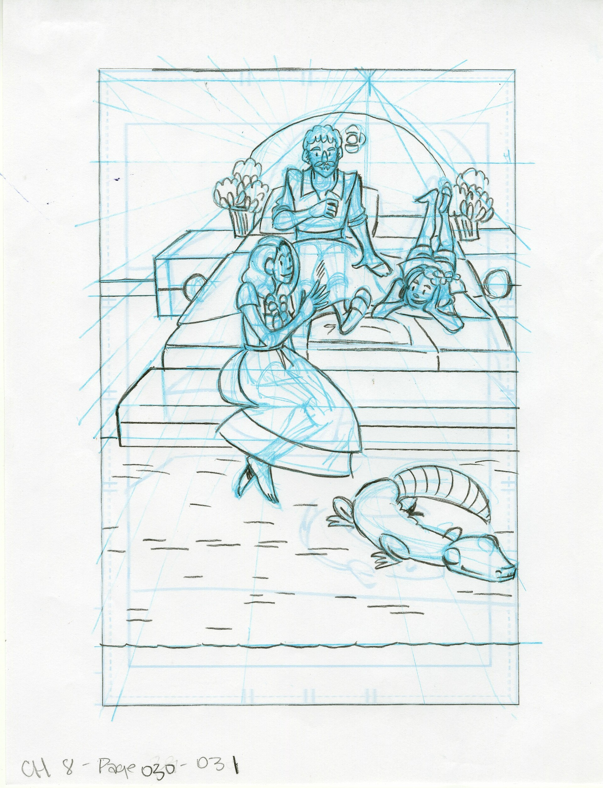 Roughs Page 31