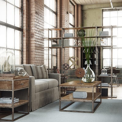 Alex coman industrial interior by alexcom d7w2l83