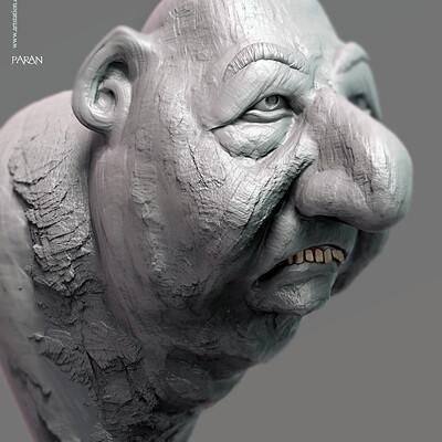 Surajit sen paran digital sculpture surajitsen jan2020a