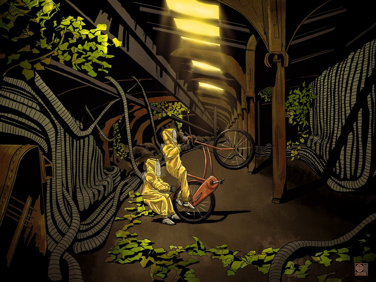 Post Apo Bicycle