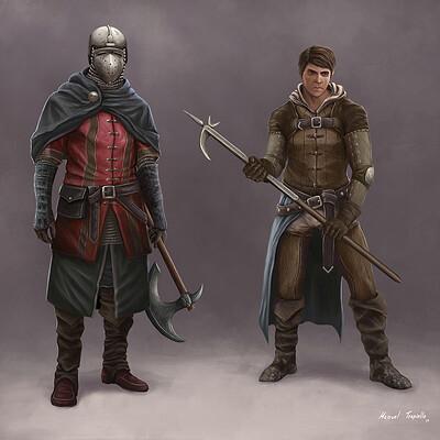 Manuel trapiello guerreros medievo2