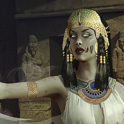 Gloria ocete faraona baja
