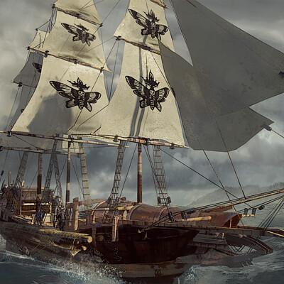 Ian tolmay iantolmay blackmoth ships 001