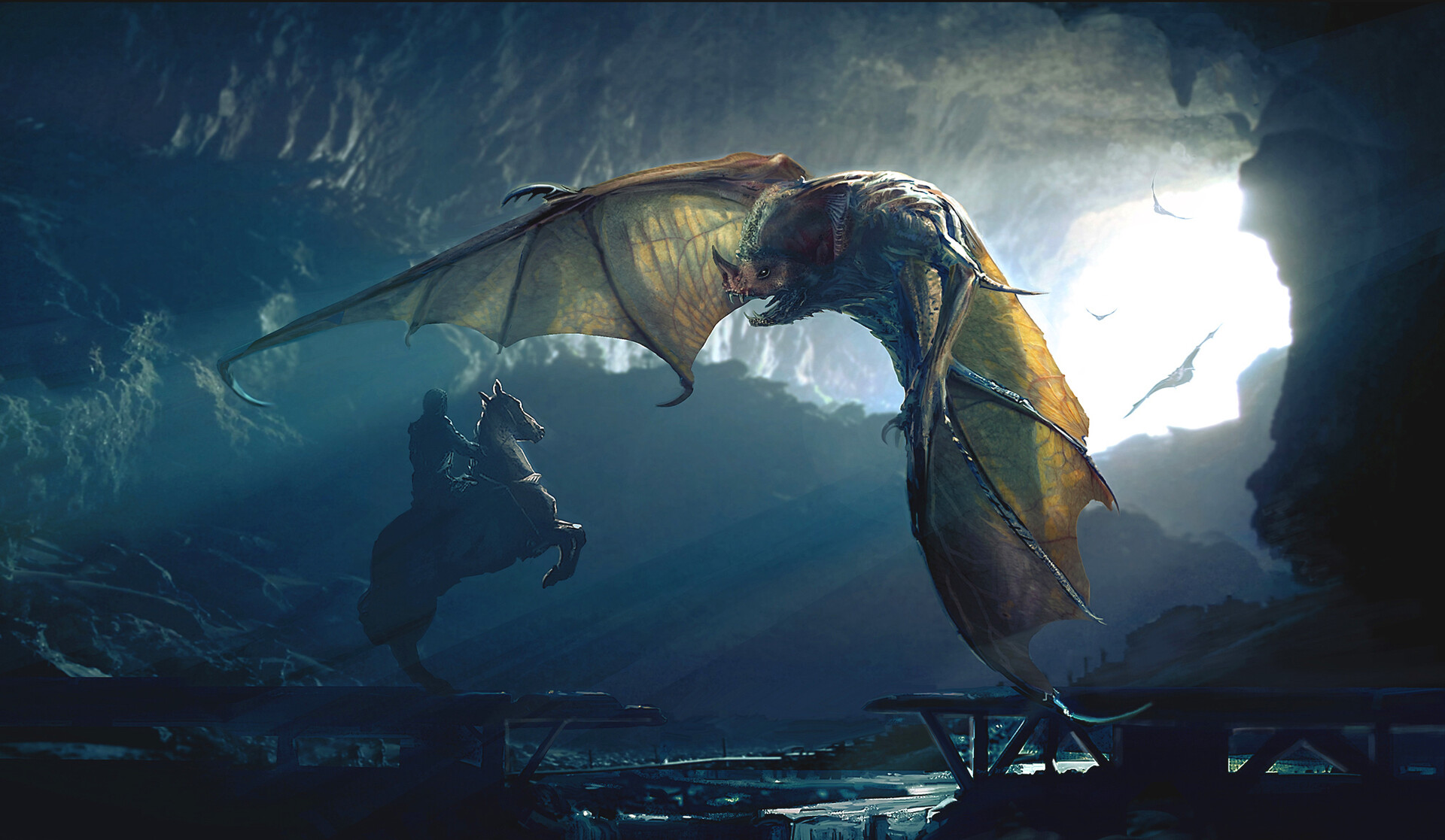 Giant Bat concept for King Arthur 