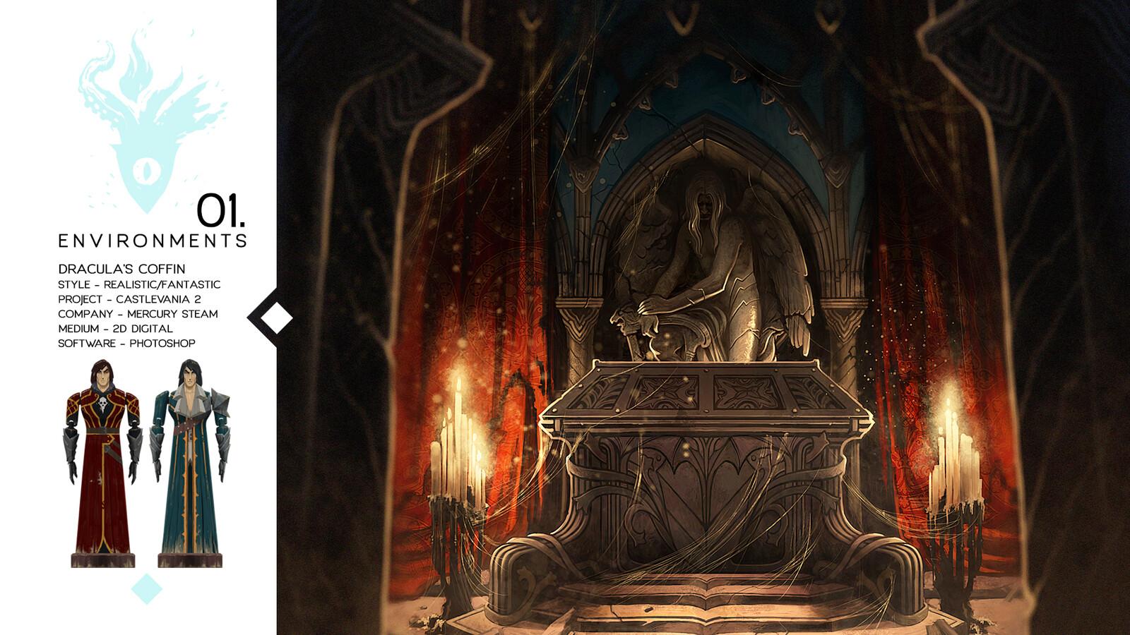 Dracula's Coffin - Castlevania Lord of Shadows II