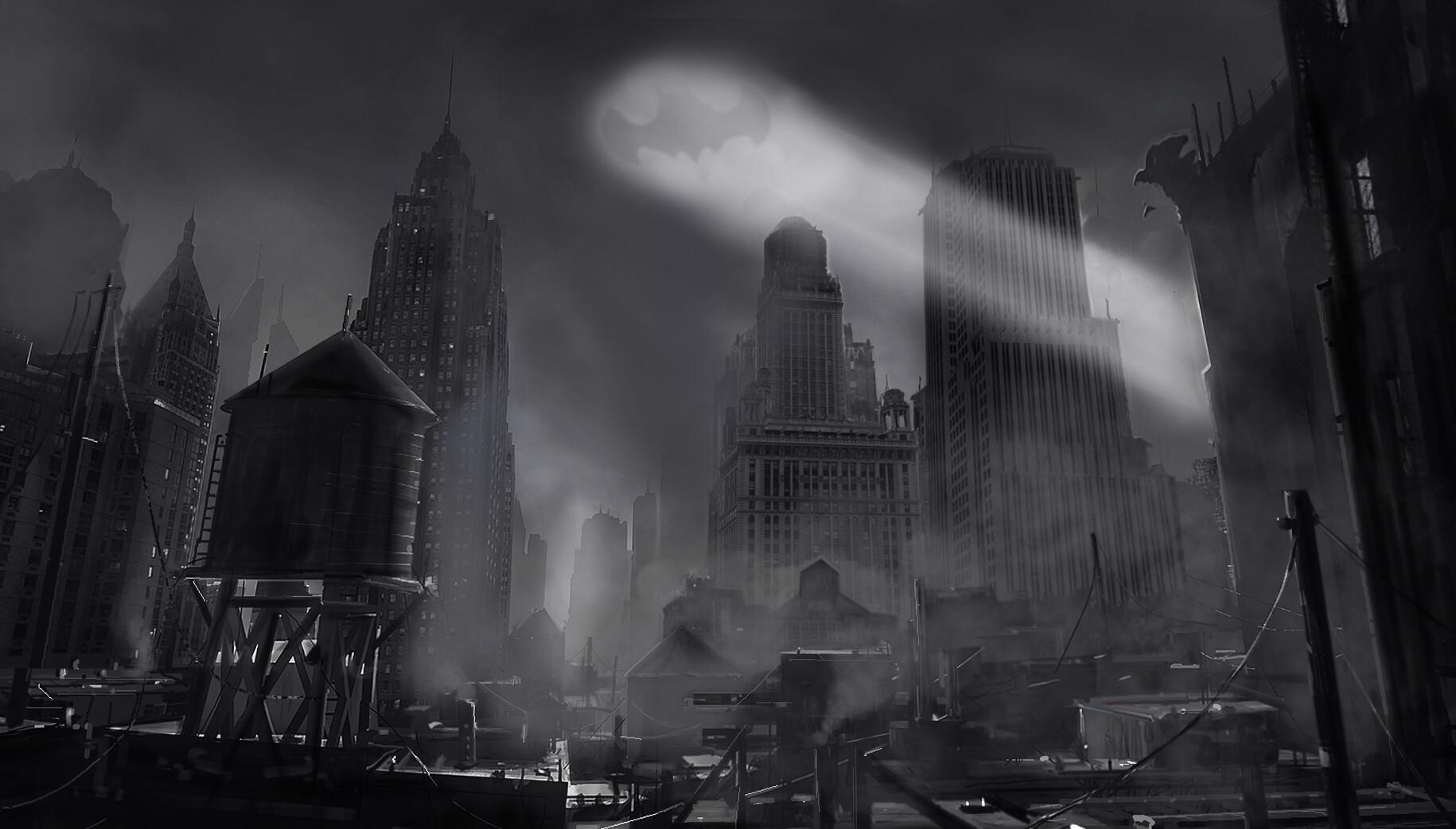 Batman city concept