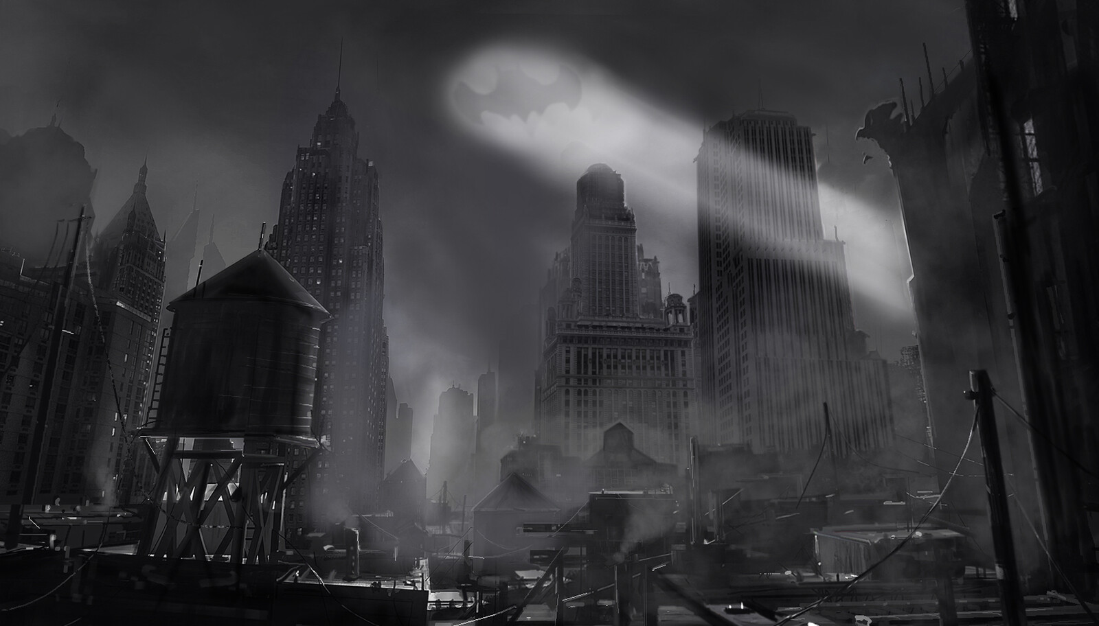 Batman city concept