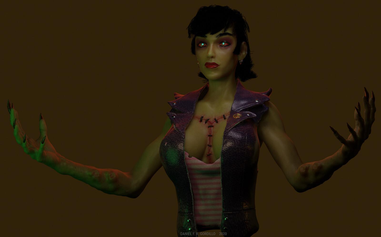 Preview in Blender's realtime engine Eevee