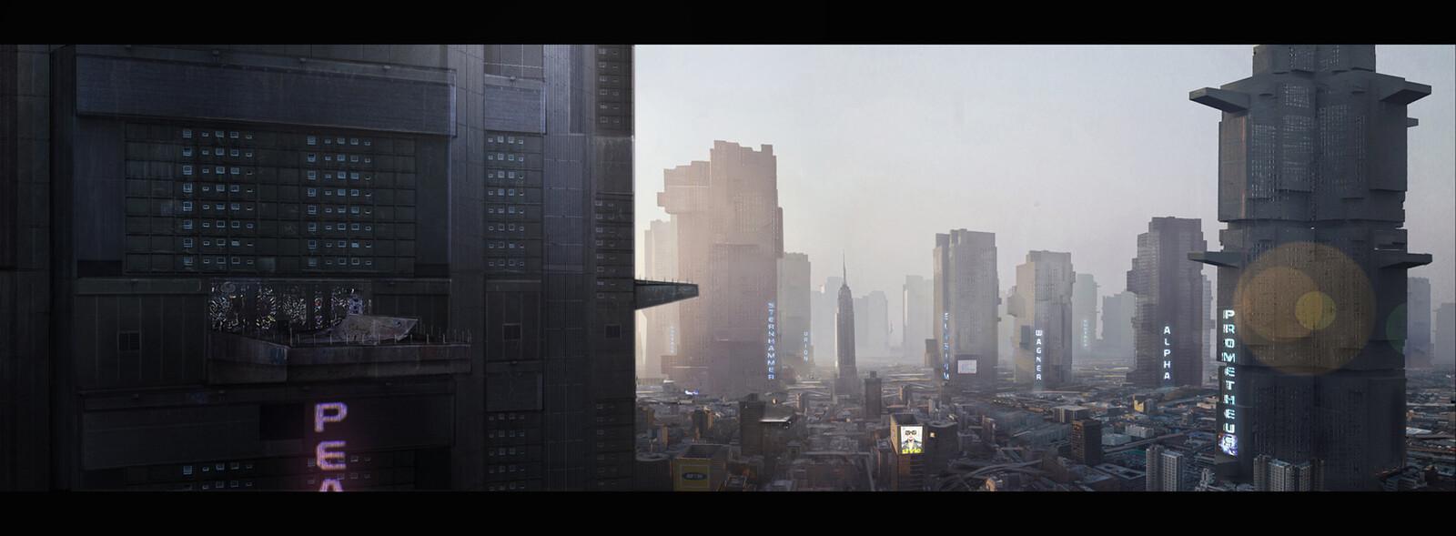 Dredd  Megacity Final Concept ( Alex Garland )