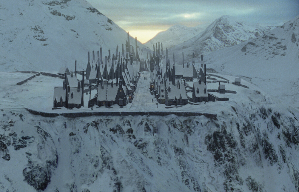 Harry Potter and the order of the the Phoenix Matte Painting Environment
