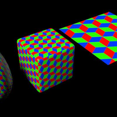 Sergio azzini cubes pattern 1