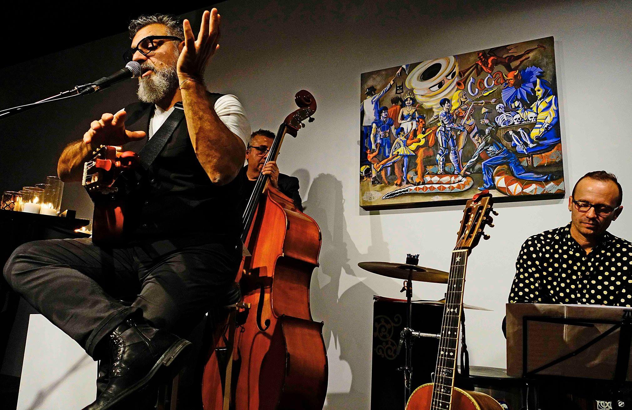 Dominic Mancuso,  Chendy Leon and Paco Luviano