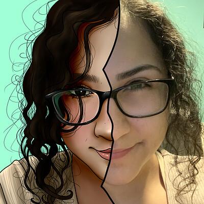 Kassandra alfaro cartoonize