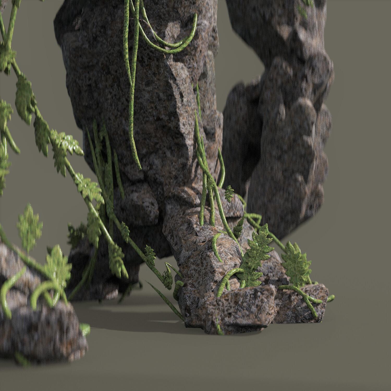 detail, octane render