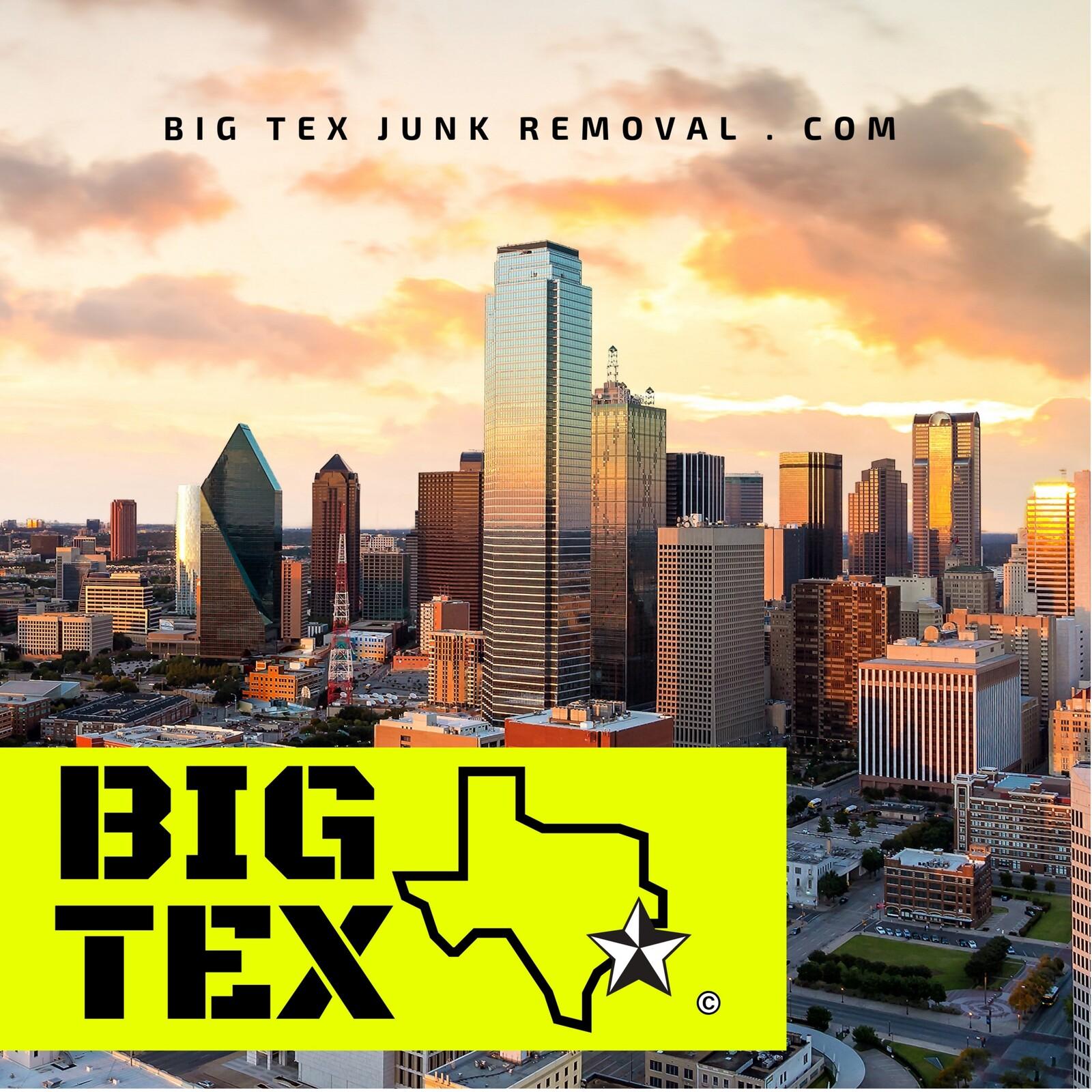 BIG TEX Junk Removal, located in Dallas, TX. Based in Arlington, TX. https://www.bigtexjunkremoval.com/