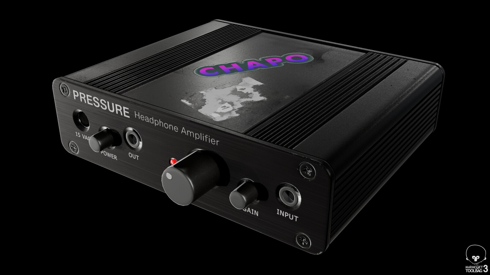 PRESSURE Headphone Amp