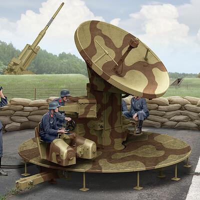Valery petelin radar wurzburg fumg 39d