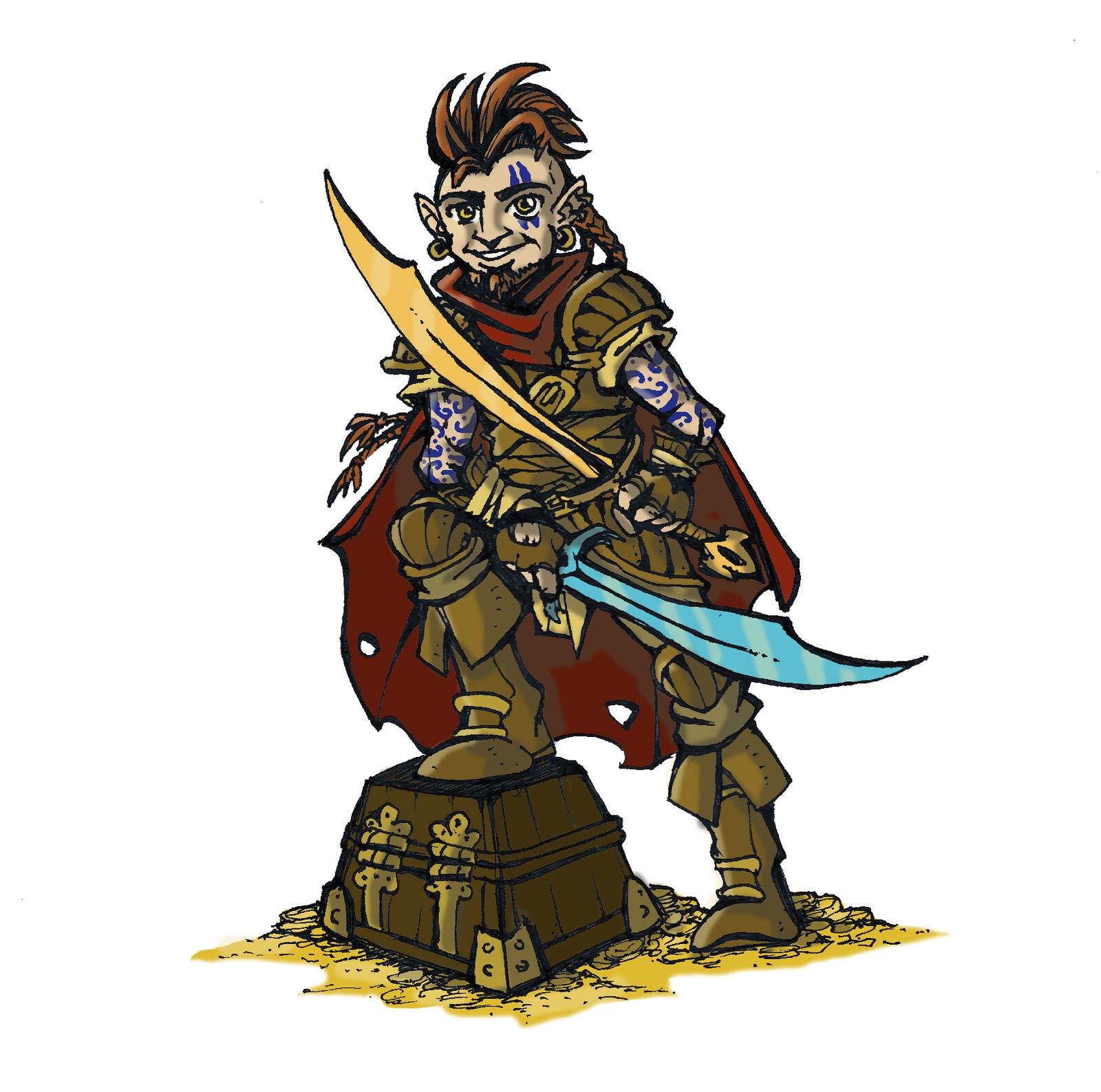 Halfling Fighter / Rogue